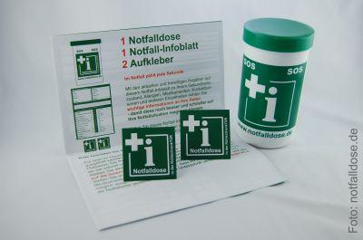 Jetzt bei uns erhältlich: Die Notfalldose